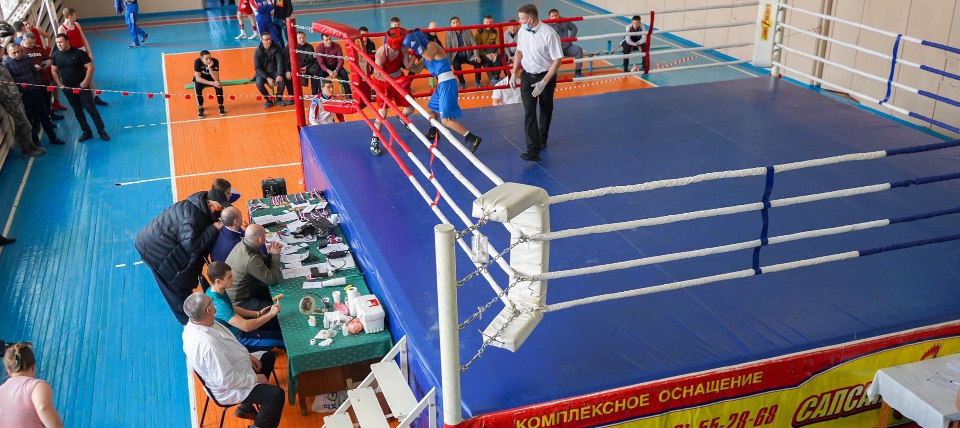 Первенство области по боксу